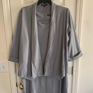 2 piece grey Dress Suit